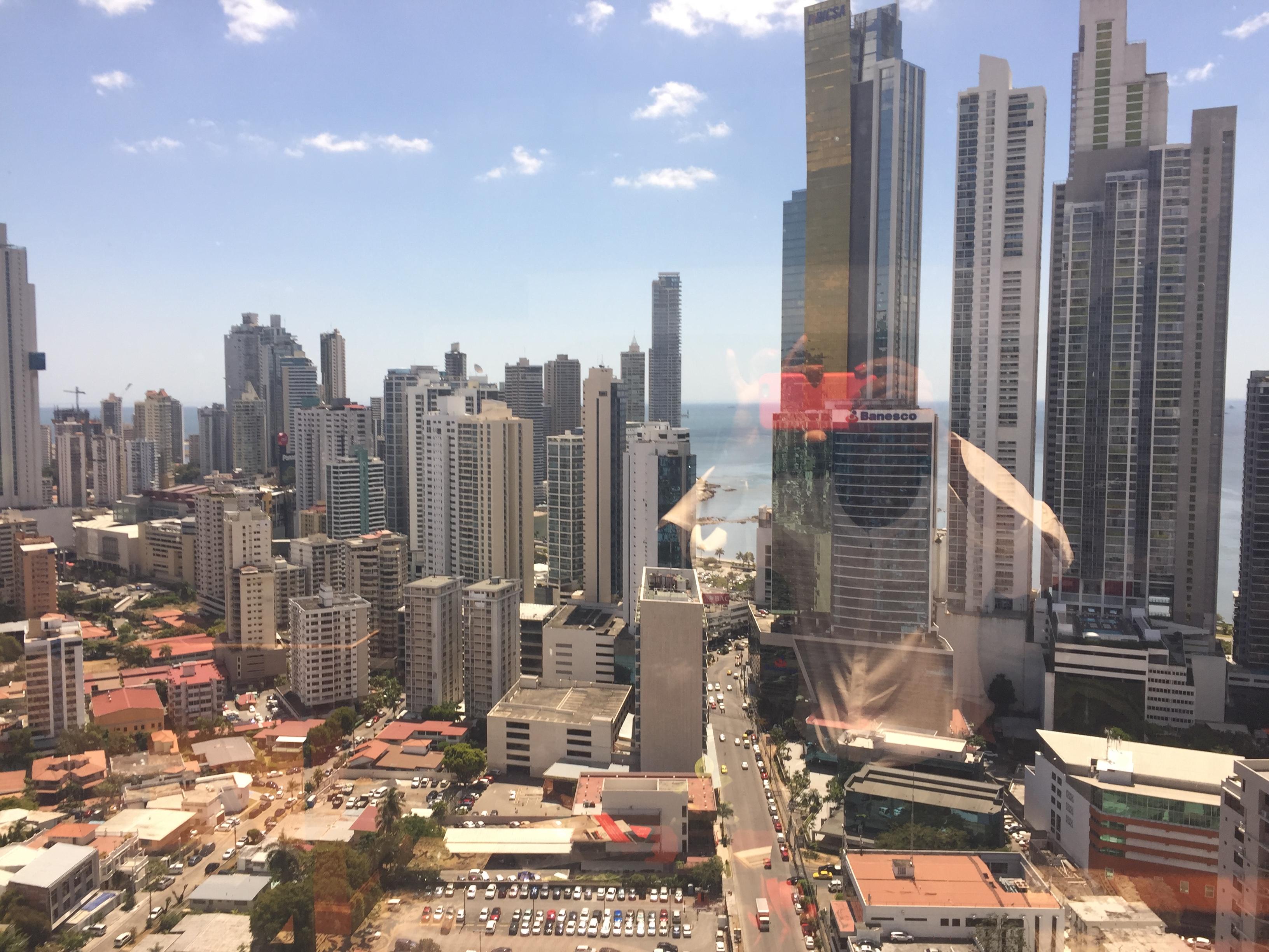 Visit of Bernard Gruppe in Panama